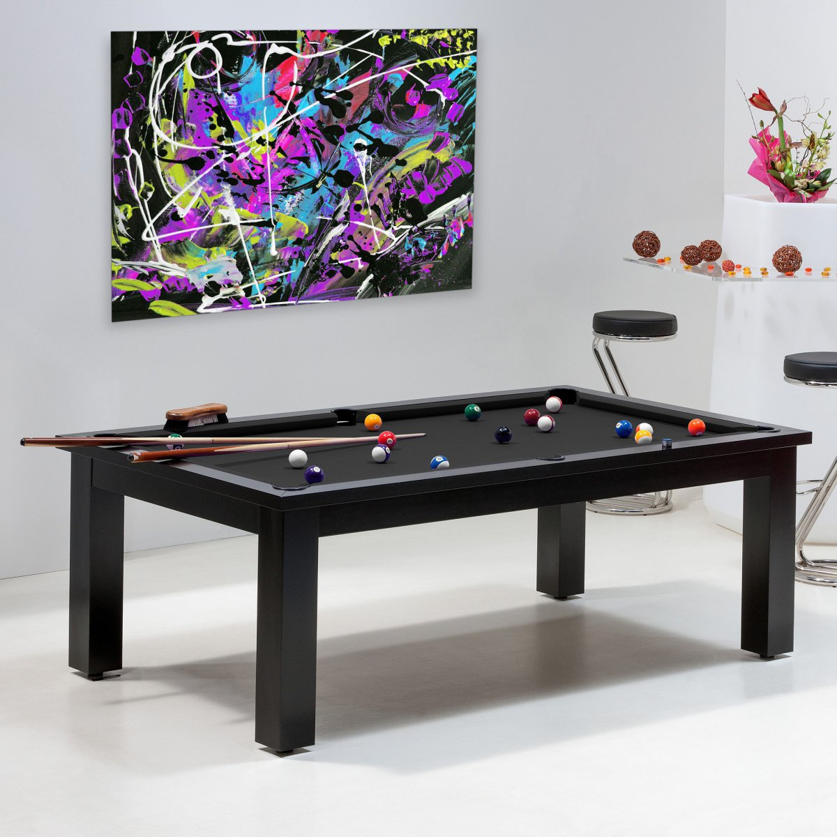 Achat billard uniquement sur billards de france le miami - Table billard transformable occasion ...