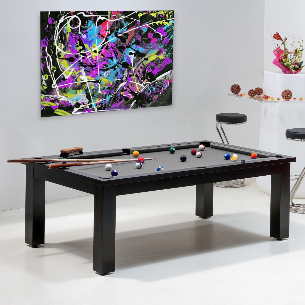 Achat billard uniquement sur billards de france le miami - Table de salon transformable ...