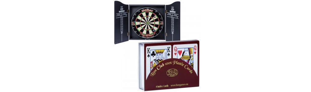 Décoration / Backgammon / Poker / Darts / Echecs