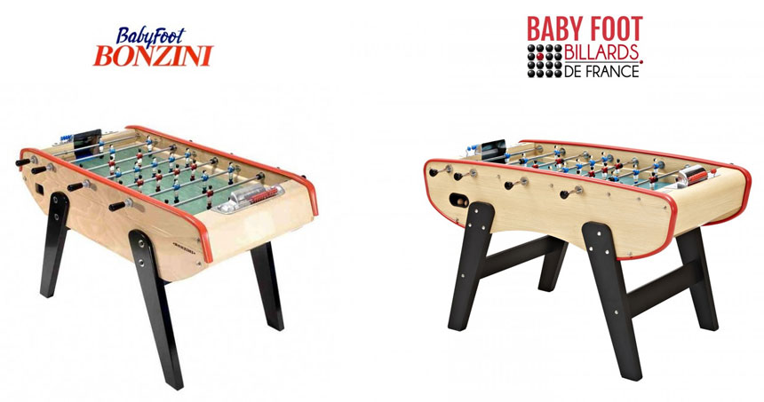 Baby foot bonzini et baby foot billards de france