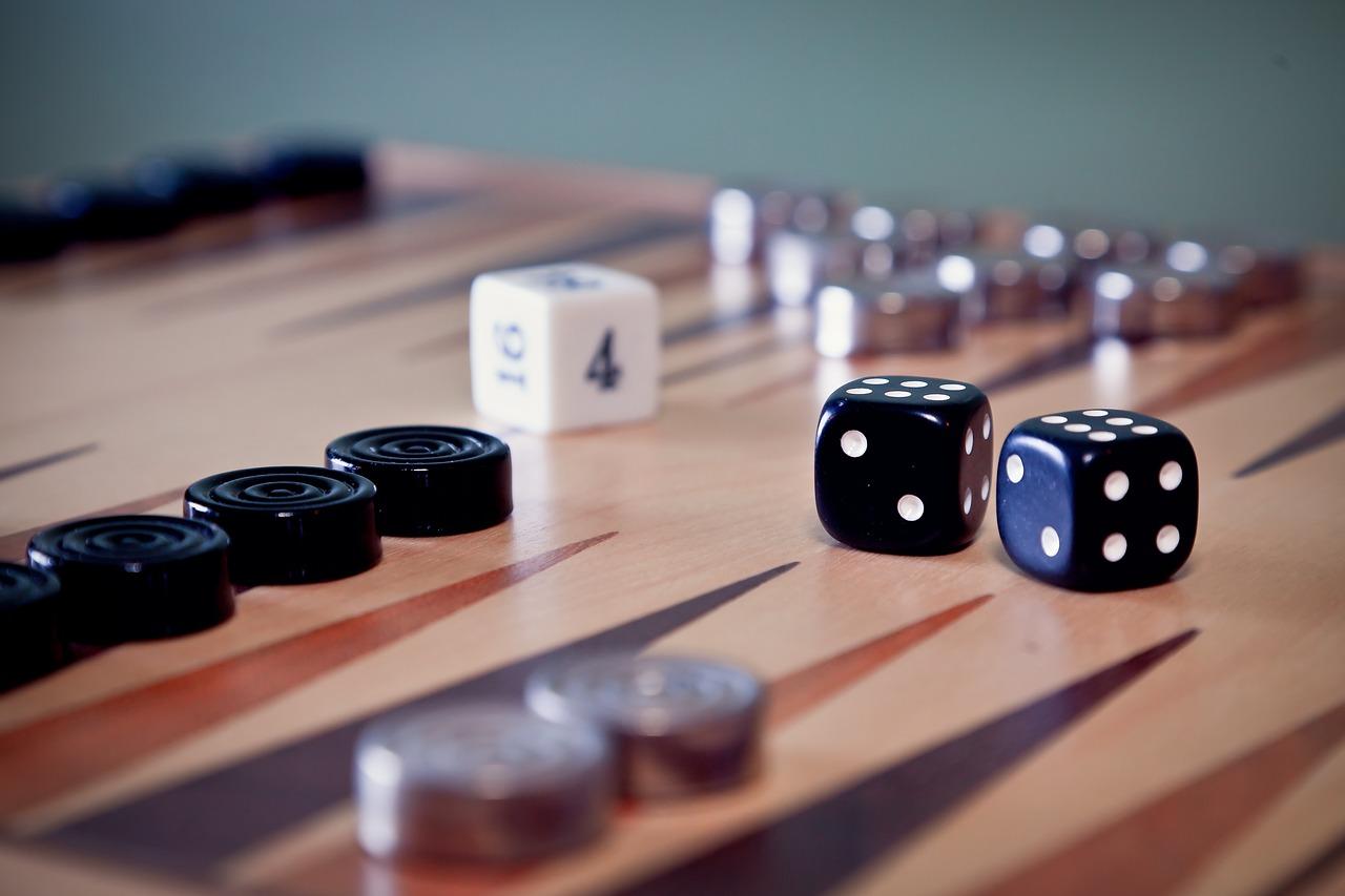 Jeu backgammon