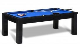 regle billard americain avec table noir modèle Santiago