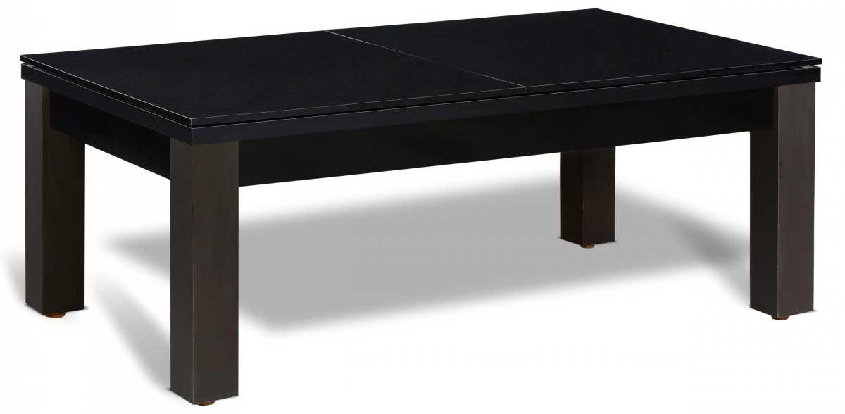 Table billard convertible noire