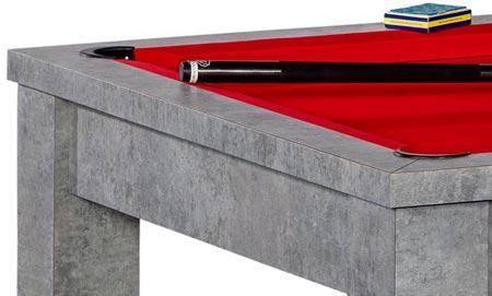 Billard table convertible