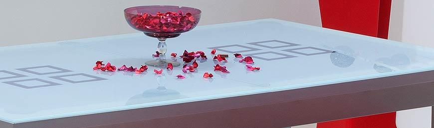Table billard convertible en verre