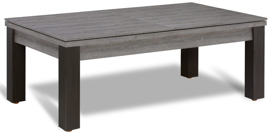 Billard table a manger et table en bois