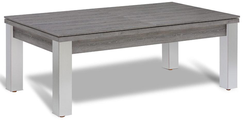 Billard transformable en table en bois