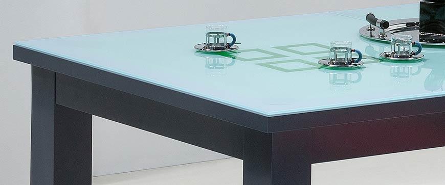 Table billard transformable en verre