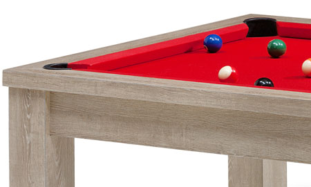 Billard am ricain billard table personnalisable jeux us - Dimension table de billard ...
