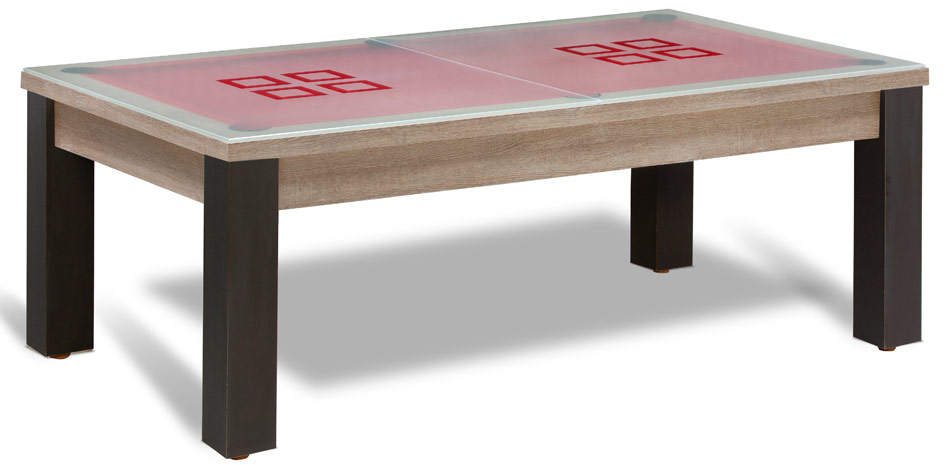 Table de billard convertible