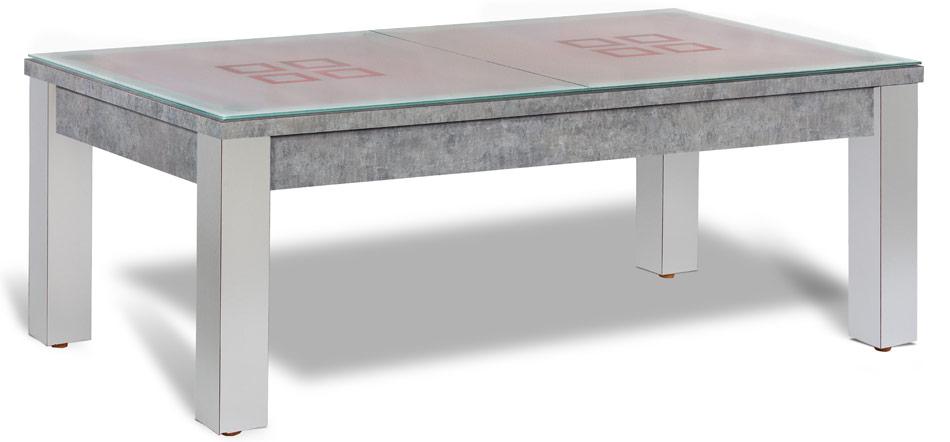Billard americain transformable table